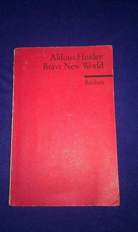 Cover von Brave new World