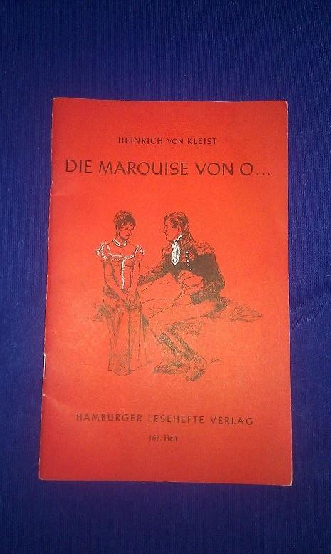 Cover von Die Marquise von O