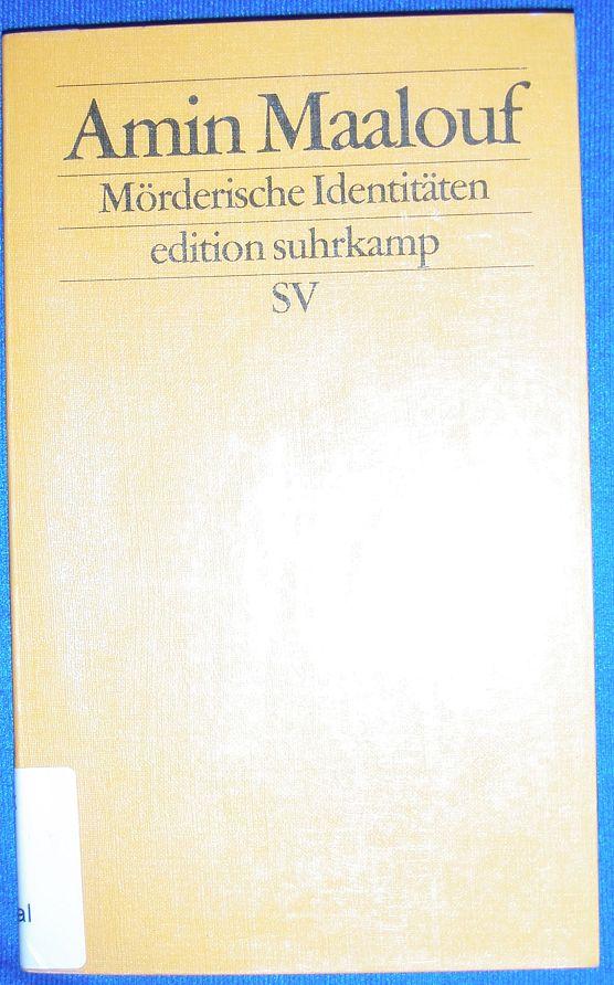 Cover von Mörderische Identitäten