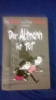 Cover von Der Altmann ist tot