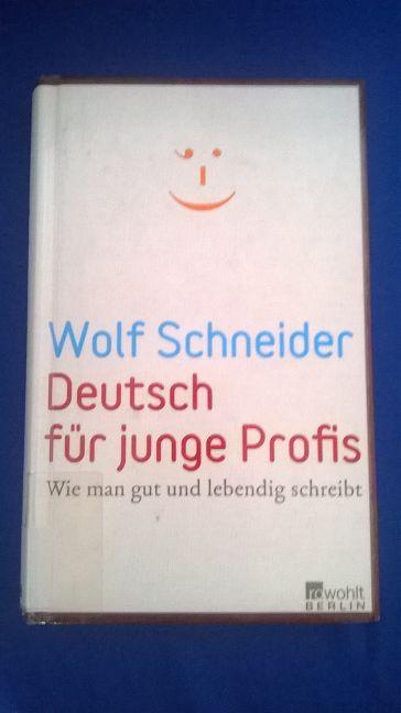 Cover von Deutsch für junge Profis