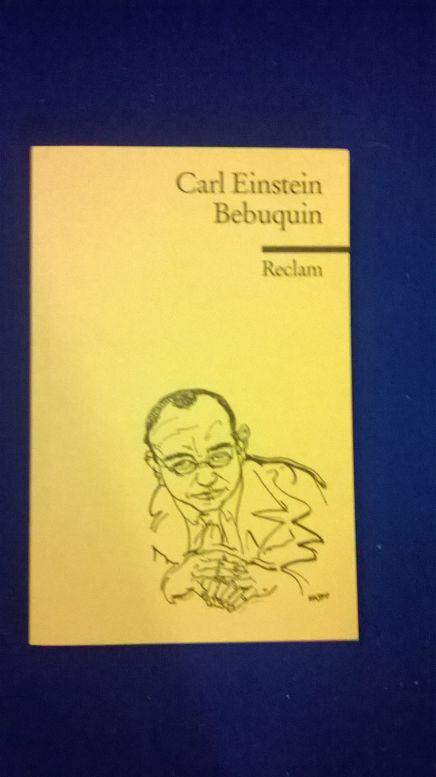 Cover von Bebuquin
